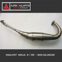harga Knalpot Ninja 2 tak (150 R/Rr) Non/Tanpa  Silencer Stainless Tokopedia.com