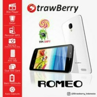 harga STRAWBERRY S10 ROMEO - OS 5.1 LOLLIPOP - 4.5 INCH Tokopedia.com