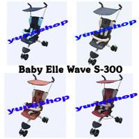 STROLLER BABY ELLE WAVE S300 (KHUSUS GO SEND )