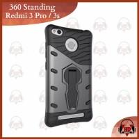 Jual Casing Xiaomi Redmi 3 Pro / 3s Hardcase Case Robot Armor 360 Standing Murah