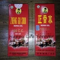 Zheng Gu Shui (Rema Oil) 100 ml - obat memar, bengkak