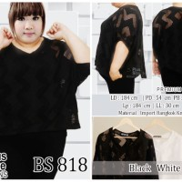 Baju Bangkok Knitt Import Big Size BS 818