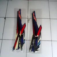 Striping Satria Fu 2007/2008 biru hitam