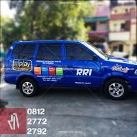 mangele sticker mobil Warpping, Branding, cutting mobil RRI