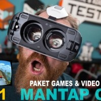 Paket Game / Games & Video HD VR Box / Google Cardboard Kacamata 3D