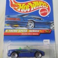 Hotwheels Hot Wheels Mazda MX-5 Miata Blue Kartu Lama