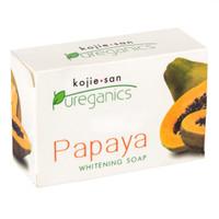 Kojie San Pureganics Papaya Pepaya Soap Sabun Mandi Badan