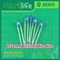 LED 3mm Diffused Biru Blue