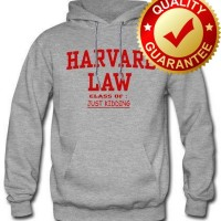 HOODIE HARVARD LAW JUST KIDDING(ONLY SIZE S,M,L,XL) TEES127 M.K