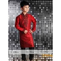 SETELAN KOKO BORDIR MH BIG Baju Muslim Anak Import Kostum India Celana