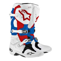 harga Sepatu Trail / Boots Cross Alpinestars Tech 10 Putih Mrah Biru Tokopedia.com