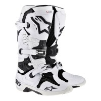 harga Sepatu Trail / Boots Cross Alpinestars Tech 10 Putih Vent Original Tokopedia.com
