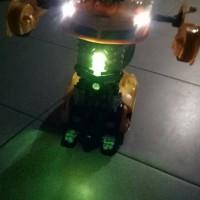 rc mobil 2 in 1 deformation bumblebee mobil robot transformer