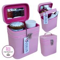 Tas Makeup Baby Pink / Tas Tempat kosmetik / Beatycase / Cosmetic Case