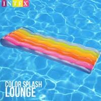 Color Splash Lounge Kasur Angin untuk Kolam Renang setelah berenang