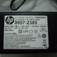 ADAPTOR PRINTER HP Deskjet 1010 - 22V - 455MAH