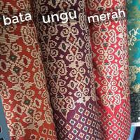 OBRAL Bahan Kain Batik Meteran Modern Motif Songket Murah