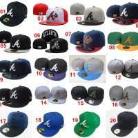 harga Topi Fitted New Era 59fifty Baseball MLB Atlanta Braves - Import Tokopedia.com