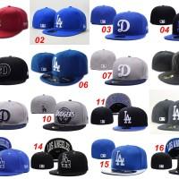 harga Topi Fitted New Era 59fifty Baseball MLB Los Angeles Dodgers - Import Tokopedia.com