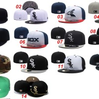 harga Topi Fitted New Era 59fifty Baseball MLB Chicago White Sox - Import Tokopedia.com