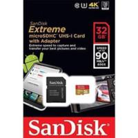 Memori Sandisk Extreme Micro Sd 32gb Class 10