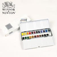 Jual Winsor & Newton Professional Water Colour Metal 24 Half Pans Murah