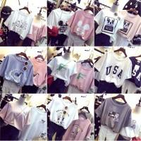 harga Kaos Baju Fashion Wanita Shirt Kemeja Blouse Atasan Korea New 2015158 Tokopedia.com