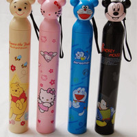 Jual Payung Cartoon Character (Pooh, Doraemon, Hello Kitty) Murah