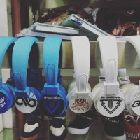 Headphone KPOP Besar Super Junior INFINITE BIG BANG RED VELVET GOT7