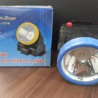 Senter Kepala Baterai LED Super Terang 5W merk Jinlong JL-537B