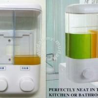[ sabun 2in1-Dispenser sabun ] manual hand soap touch soap dispenser
