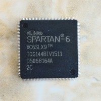XILINX XC6SLX9-2TQG144C FPGA, SPARTAN-6 LX, 9K, 144TQFP