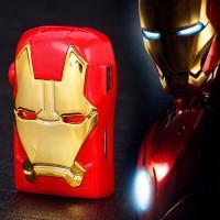 MP3 Mini Media Player Colour Iron Man Series / Pemutar Musik Micro SD