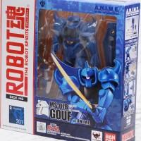 Robot Damashii MS-07B Gouf ver ANIME + BONUS DIALOG (IND) Gundam RX-78