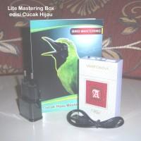 harga [lite] Mastering Box Burung Cucak Hijau Tokopedia.com