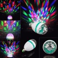 Lampu Disco Otomatis Full Color (Led Full Color Rotating Lamp)