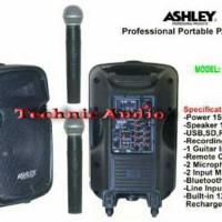 harga Speaker Portable Wireless Meeting Ashley Pa 15 E ( 15 Inchi ) Tokopedia.com