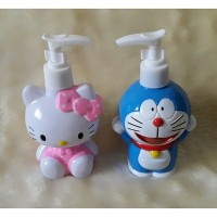 Botol sabun / Botol lotion hello kitty & doraemon