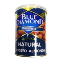 harga Blue Diamond Unsalted Roasted Kacang Almond [130 Gr] Tokopedia.com