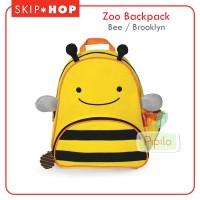 Skiphop Zoo Backpack - Bee / Brooklyn / Tas Sekolah Anak