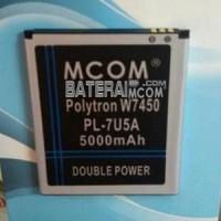 Baterai Polytron W7450 Type PL 7U5A Wizard Quadra Mcom 5000Mah