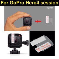Anti Gores GoPro 4 Session / Lens LCD Screen Protector GoPro - SGGP4S