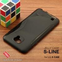 LG X Cam Xcam Soft Jelly Gel Silicon Silikon Case Softcase Hitam K580