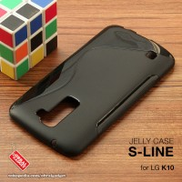 LG K10 Soft Jelly Gel Silicon Silikon Case Softcase Hitam 4G LTE K430
