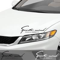 Sticker Mobil Sportmind Ford Toyota TRD Daihatsu Chevrolet Honda Mugen