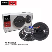 Sony Gtf 1638 3-Way Coaxial Speaker System