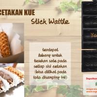harga Panci Cetakan Kue Waffle Happy Mom Wafel sate Anti Lengket 10 tusuk Tokopedia.com