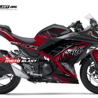 Kawasaki Ninja 250R Fi Black SE RED