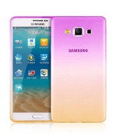 Case Samsung Galaxy J5 Ultra Thin Gradien Transparan Soft Back Case
