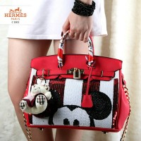 New PROMO Hermes Birkin Mickey Togo Leather With Twilly